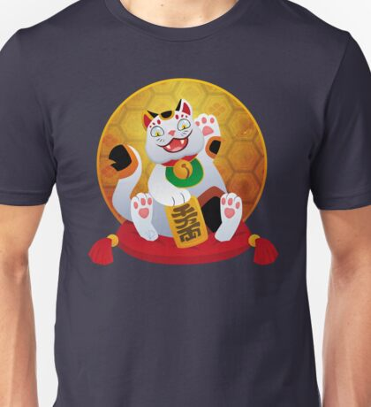 Silly Beasty : Maneki Neko Unisex T-Shirt