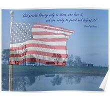 Liberty, Daniel Webster Poster