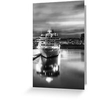 The World HDR Greeting Card