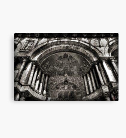 Threshold - St Mark's Basilica, Venice Canvas Print