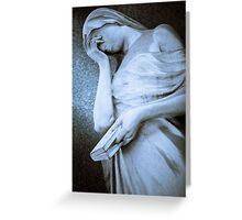 Weeping Greeting Card