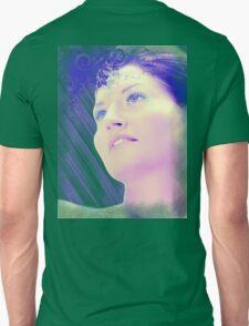 Blue woman Unisex T-Shirt