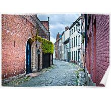 Bruges Street Poster