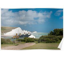 Seven Sisters Cliffs Poster