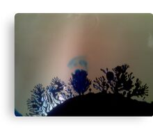 Alien Landscape with Moonlight Canvas Print
