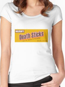 Death Duds Women's Fitted Scoop T-Shirt