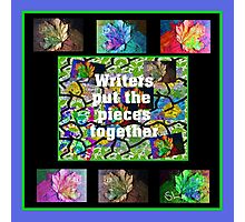 Writers Put The Pieces Together Photographic Print
