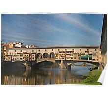Ponte de Vecchio, Florence Poster