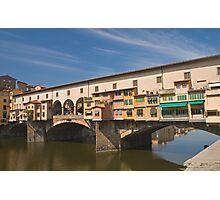 Ponte de Vecchio, Florence 2 Photographic Print