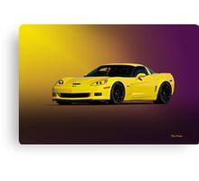 2008 Corvette Z06 Coupe Canvas Print