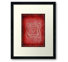 Root Chakra Framed Print