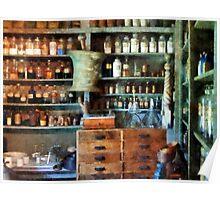 Back Room of Drug Store Poster