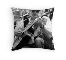 He Plays Guitar Throw Pillow