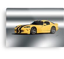 2001 Dodge Viper GTS VS1 Metal Print