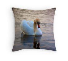 The Sleeping beauty - Swan in dream world Throw Pillow