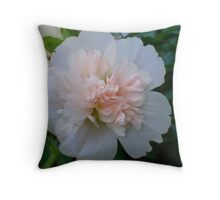 Pretty Pink Blossom Throw Pillow