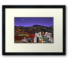 Desert Texaco Framed Print