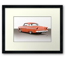 1954 Mercury Custom Hardtop I Framed Print