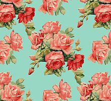 Vintage Rose Flower Pattern by sale