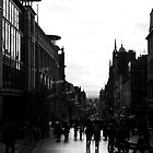 Glasgow City Centre (Black and White) by LouisexxxM