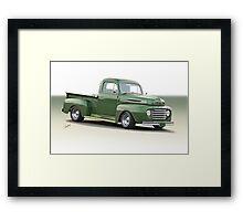 1950 Ford F100 Custom Pickup Framed Print