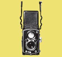 Vintage Medium Format Camera Rolleiflex Twin Lens Reflex (TLR) Kids Clothes