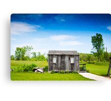 Abandoned Hut  Canvas Print