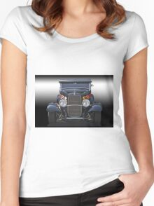 1932 Ford 'Traditional' Hot Rod Women's Fitted Scoop T-Shirt