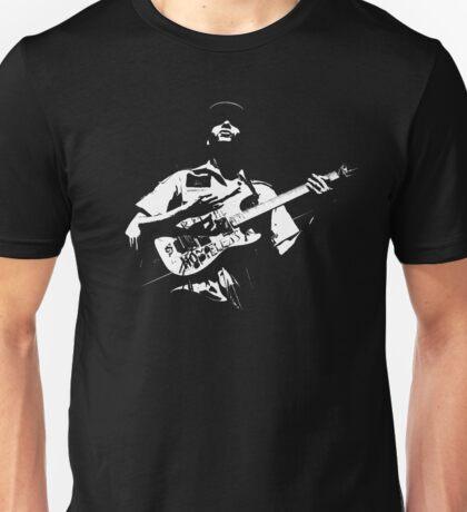 Dark Guitarist Unisex T-Shirt