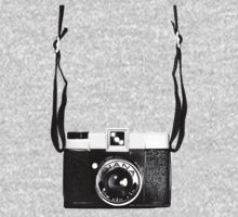 Vintage Camera Diana Plastic Toy Lomo 120 Film Kids Tee