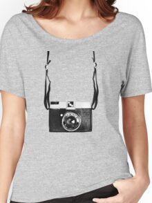 Vintage Camera Diana Plastic Toy Lomo 120 Film Women's Relaxed Fit T-Shirt