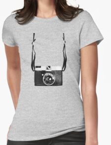 Vintage Camera Diana Plastic Toy Lomo 120 Film Womens Fitted T-Shirt