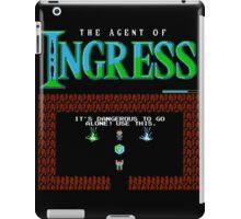 The agent of Ingress iPad Case/Skin