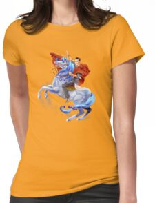 Handsome Jack & Buttstallion (Borderlands 2) Womens Fitted T-Shirt