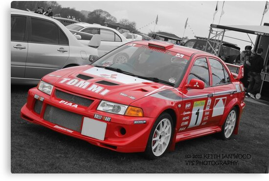 Tommi Makinen by Keith Ian Wood