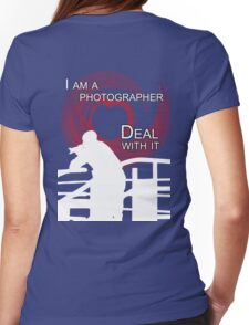 I am Photographer Womens Fitted T-Shirt