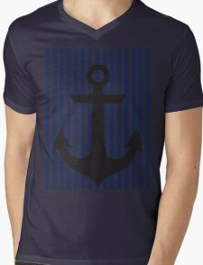 anchor Mens V-Neck T-Shirt