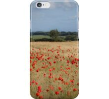 Waiting in the field iPhone Case/Skin