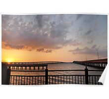 Charlotte Harbor at Sunset, As Is Poster
