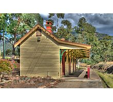 The Country Railway Station, Kandos, NSW, Australia Photographic Print