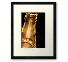 Bottled Light Framed Print