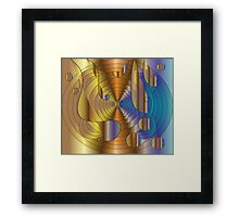Let there be music..... Framed Print
