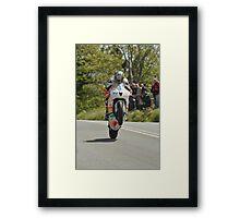 Isle of Man TT 2011 Framed Print