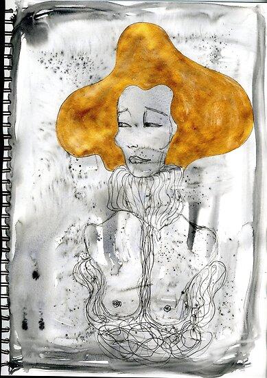 Golden Lady by Faeriewarrior