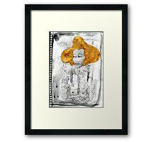 Golden Lady Framed Print