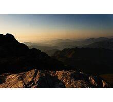 Morning Breaks - Gayasan National Park, South Korea Photographic Print