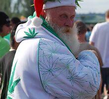 Marijuana Santa Claus by FloraDiabla