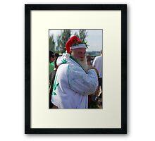 Marijuana Santa Claus Framed Print