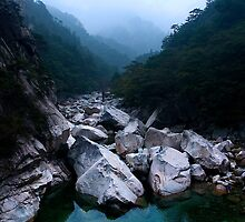 Biseondae Stream - Seoraksan National Park, South Korea by Alex Zuccarelli
