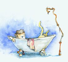 Casey & Kitty: Bath fight by Joe Brown